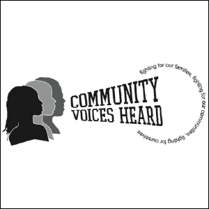 Community Voices Heard logo