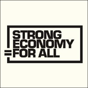 Strong Economy for All logo